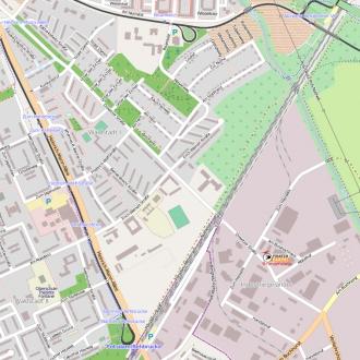 CC-BY-SA OpenStreetMap und Mitwirkende