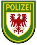 Gemeinfrei gemäß http://commons.wikimedia.org/wiki/File:Brandenburg_Police_Patch.svg?uselang=de