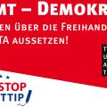 STOP TTIP - Quelle: Piratenpartei Deutschland