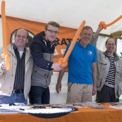 Crew vom 1. Mai Fest Teltow 2015