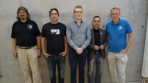 Thomas Langen, Jens Heidenreich, Raoul Schramm, Oliver Mücke, Andreas Schramm