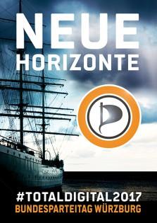 NEUE HORIZONTE - TOTAL DIGITAL - PIRATEN  BPT-WUERZBURG - be-him